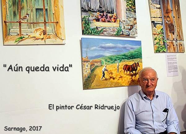 Exposición de pintura César Ridruejo